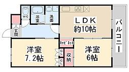 AMENITYCOURT K・I[103号室]の間取り