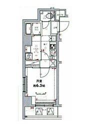東武伊勢崎線 東向島駅 徒歩8分の賃貸マンション 5階1Kの間取り