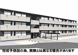 徳島県徳島市中吉野町4丁目の賃貸アパートの外観
