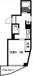 第37シンエイビル bt[305kk号室]の間取り