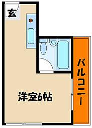 プチメゾン西明石[4階]の間取り