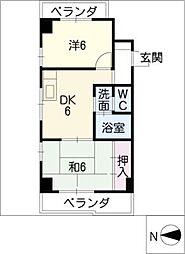 第7加藤ビル[6階]の間取り