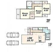 建物参考プラン:間取り/3LDK、延床面積/100.00?、土地建物参考価格/10800万円(税込)\n