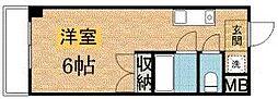 パドーレ カミノ[114号室]の間取り