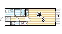 パラシオンSAKAIMACHI[301号室]の間取り