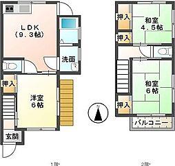 [一戸建] 静岡県三島市加茂 の賃貸【/】の間取り