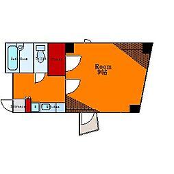 ロイヤルパーク東向島[5階]の間取り