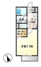 スプランドゥール[1階]の間取り