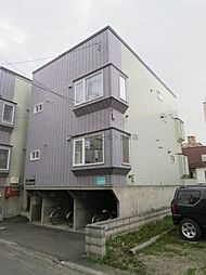 北海道札幌市北区北二十八条西2丁目の賃貸アパートの外観