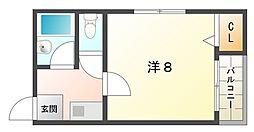 サンフォレスト守口[4階]の間取り