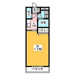 MYTHOS[1階]の間取り