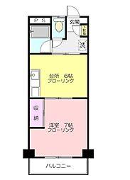 ピノヴェント2[1階]の外観