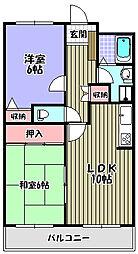 グレースコート[3階]の間取り