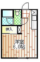 町田ビューハイツA[202号室]の間取り