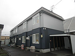 北海道石狩市花川南七条3丁目の賃貸アパートの外観
