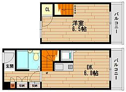 アルテ魚崎[6階]の間取り