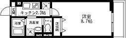 東京都足立区竹の塚3丁目の賃貸アパートの間取り