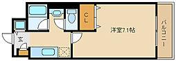 ボンジュールアネックス[2階]の間取り