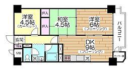 いづみハイツ竹の塚[308号室]の間取り