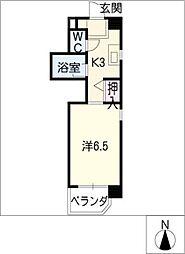 サード・サワータウン[4階]の間取り