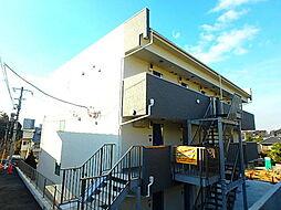 千葉県船橋市東中山2丁目の賃貸アパートの外観