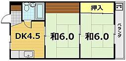 トアベルデュール[3階]の間取り