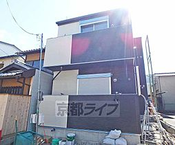 京都府京都市西京区川島北裏町の賃貸アパートの外観