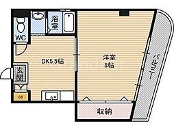 ラ・フォーレ諏訪[3階]の間取り