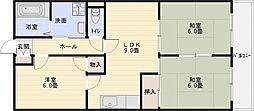 パールハイツ21[2階]の間取り