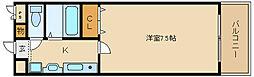 トレイズIII[3階]の間取り