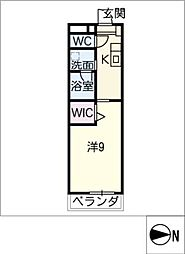 仮)大高Mプロジェクト B棟[1階]の間取り