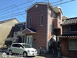愛知県名古屋市瑞穂区上坂町1丁目の賃貸アパートの外観