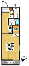 エスポワール久留米[3階]の間取り