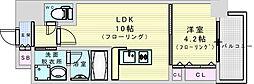 (仮称)ニコニコタクシー株式会社様プロジェクト 7階1LDKの間取り