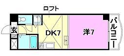 タケワラ148[302 号室号室]の間取り
