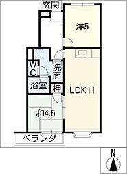 アートメゾン[3階]の間取り