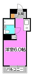 アーバンハイム寿[3階]の間取り