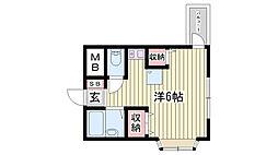 塩屋駅 3.5万円