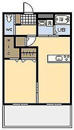 (新築)clara octo[1階]の間取り