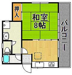 [一戸建] 千葉県柏市柏 の賃貸【/】の間取り