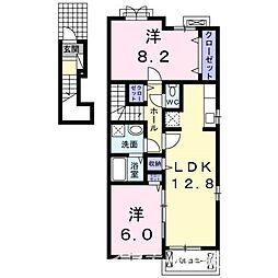 TJハウス[2階]の間取り
