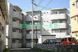 北海道札幌市東区北十五条東18の賃貸マンションの外観