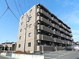 神奈川県高座郡寒川町中瀬の賃貸マンションの外観