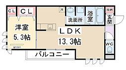 仮称)D-room瑞穂[2階]の間取り