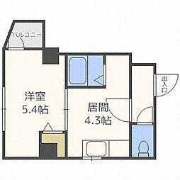 プロムナード[4階]の間取り