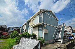 愛知県名古屋市中川区荒中町の賃貸アパートの外観