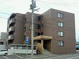 北海道札幌市清田区北野四条3丁目の賃貸マンションの外観