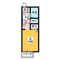 ケイハウス[2階]の間取り