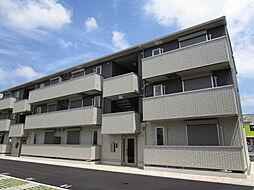 大阪府八尾市二俣2丁目の賃貸アパートの外観