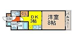 Lani Kai Park[7階]の間取り